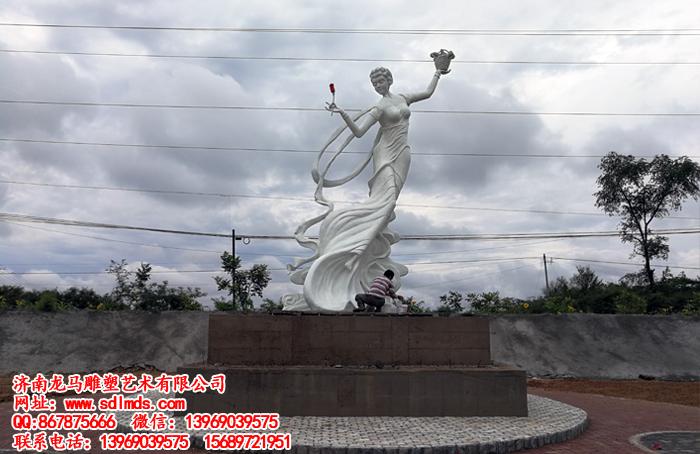 仙子雕塑 仙女雕塑